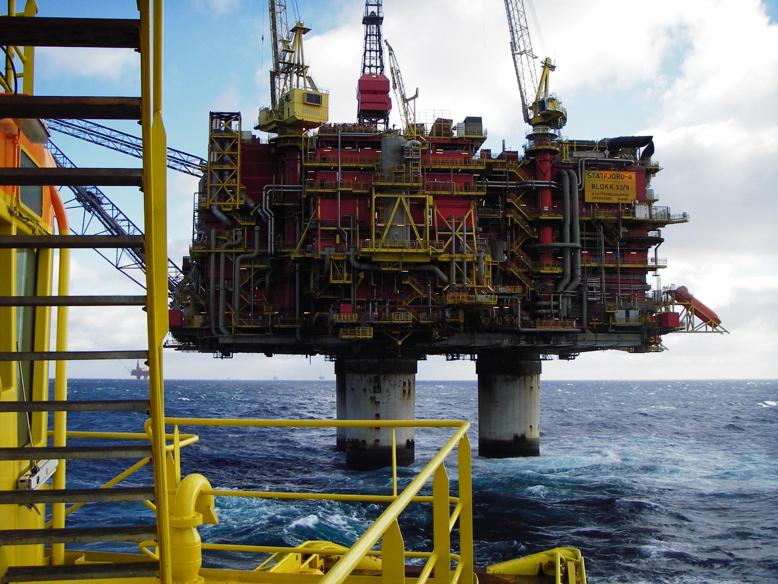 Jobba Pa Oljeplattform I Norge